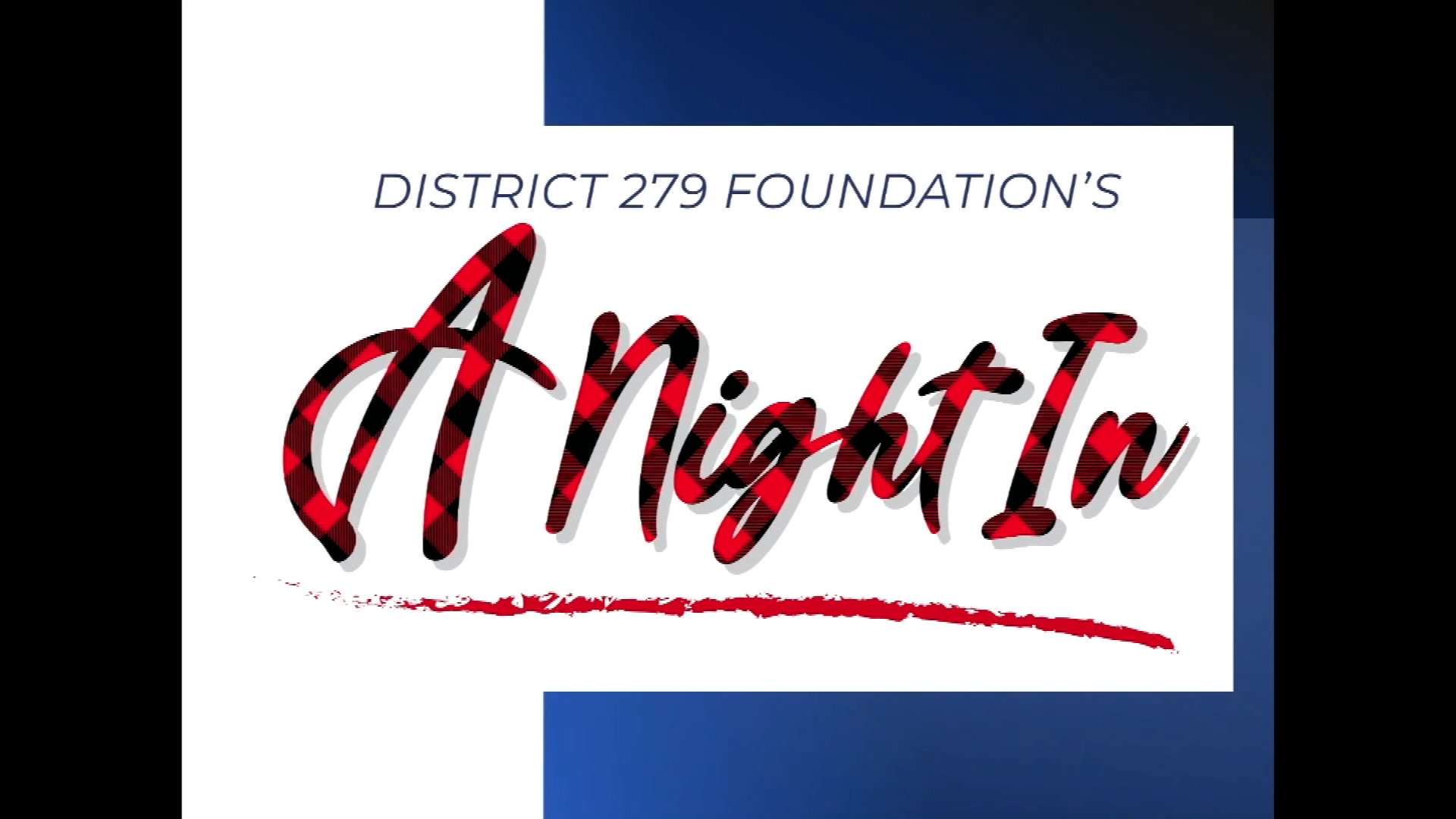 District 279 Foundation's A Night In title page